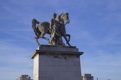 Statue, Paris Stock Photo