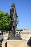 Statue Paris de Thomas Jefferson photo stock