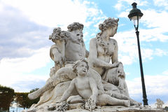 Statue - Paris Royalty Free Stock Photos