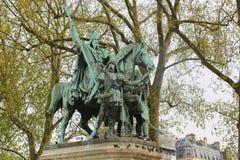 Statue - Paris Royalty Free Stock Photos