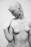Statue in paris. Museum.  stone. paris, france Royalty Free Stock Image