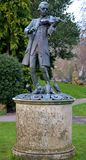 Statue from a park. In Bath Royalty Free Stock Image