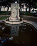 Statue Park in Lisbon Stock Image