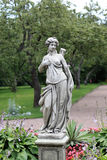 Statue in the park Royalty Free Stock Photography