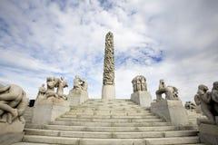 Statue Park Oslo Stock Photography
