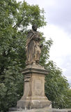 Statue in the park of Prague,Czech Republic Stock Images