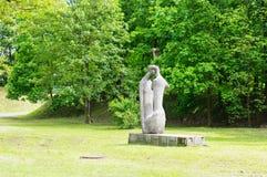 Statue park Stock Images