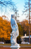 Statue in the park Stock Images