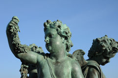 Statue in the park of Versailles Palace Stock Image
