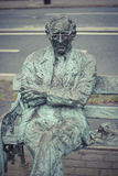 Statue of Patrick Kavanagh Royalty Free Stock Photos