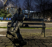 Statue of Patrick Kavanagh Royalty Free Stock Images