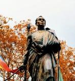 Statue of Simon Bolivar stock image