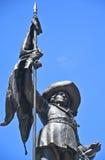 Statue of Paul de Chomedey, sieur de Maisonneuve Royalty Free Stock Images