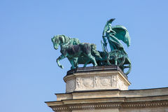 Statue of Peace in Budapest, Hungary Stock Images