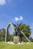Statue of Pedro Alvares Cabral - Ibirapuera Royalty Free Stock Image