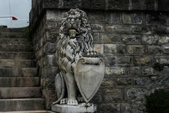 Statue from Peles Castle Royalty Free Stock Image