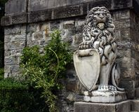 Statue from Peles Castle Royalty Free Stock Photo