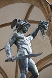 Statue Of Perseus stock photos