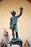 Statue of perseus Royalty Free Stock Photo
