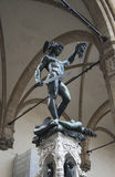 Statue of Perseus in Florence Stock Photo