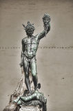Statue of perseus with head in hand. Florence. Italy. Stock Photo