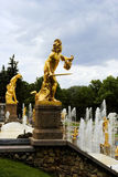 Statue of Perseus, Petergof, Russia Royalty Free Stock Image