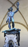 Statue Perseus slaying Medusa in Firenze Royalty Free Stock Photos