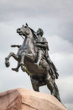 Statue of Peter the Great in Saint Petersburg Royalty Free Stock Photo