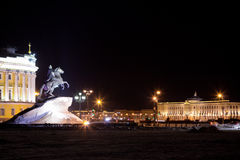 Statue of Peter the Great Stock Photography