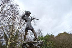Statue of Peter Pan Royalty Free Stock Image