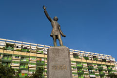 Statue of Petofi Sandor in Hungary Stock Photography