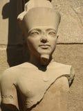 Statue of a Pharaoh. Pharaoh statue at the Karnak Temple, Luxor, Egypt Stock Images