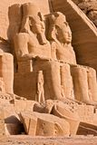 Great Temple of Abu Simbel - Egypt royalty free stock photography