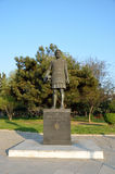 Statue of Philip II of Macedon in Thessaloniki Royalty Free Stock Images