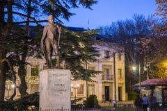 Statue of Philip II in Valladolid Stock Photo