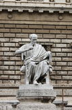 Statue of a philosopher Royalty Free Stock Images