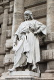 Statue of a philosopher in Rome Royalty Free Stock Photo
