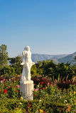 Statue. This photo are woman statue in garden Stock Photography