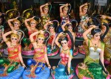 Statue Phra Mae Thorani stockfotografie