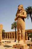 Statue of Pinedjem, Karnak temple, Luxor, Egypt Royalty Free Stock Photo