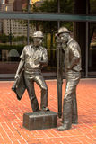 Statue in Pittsburgh Stock Image