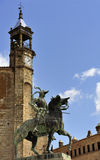 Statue of Pizarro (Trujillo, Extremadura, S Stock Photos