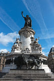 Statue Place de la Republique, Paris 01 Royalty Free Stock Image