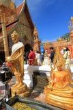 Statue, Place, Of, Worship, Wat, Gautama, Buddha, Temple, Shrine, Hindu, Tourism, Religion, Sculpture, Monument, Building, Ancient Stock Photography