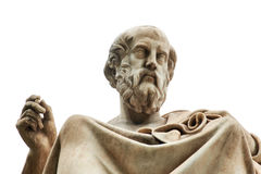 Statue of Plato in Athens. Statue of ancient Greek philosopher Plato in Athens Stock Photography