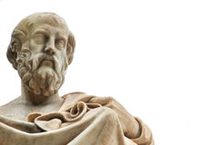 Statue of Plato in Athens. Statue of ancient Greek philosopher Plato in Athens Royalty Free Stock Photo