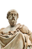Statue of Plato in Athens. Statue of ancient Greek philosopher Plato in Athens Stock Images