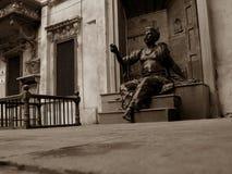 Statue of poet Stock Photography