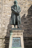 William Barnes Statue in Dorchester. A statue of poet William Barnes, located outside St. Peters Church in Dorchester, Dorset, UK Royalty Free Stock Photography