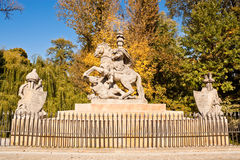 Statue of polish king Jan III Sobieski Stock Photo